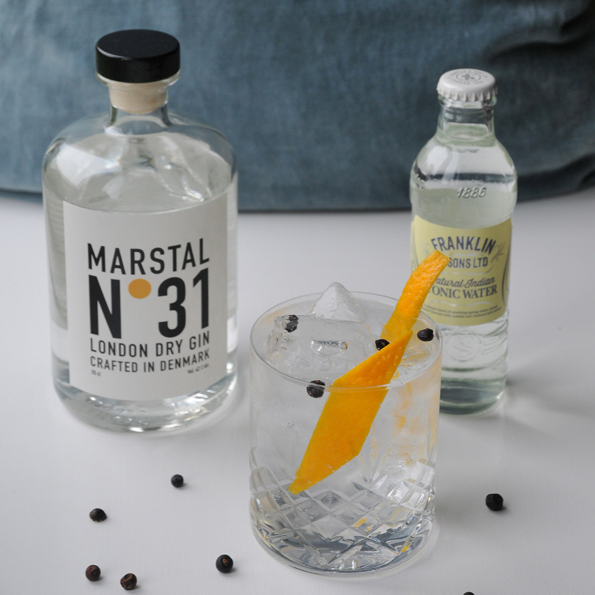 Marstal No. 31 & Franklin & Sons Indian Tonic