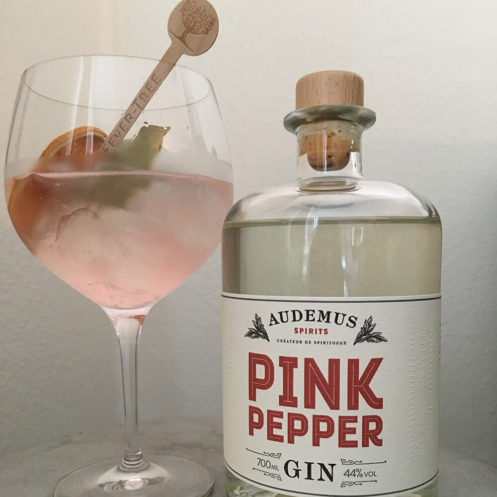 Pink Pepper Gin & Tonic